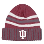 ADIDAS Sideline Coach's Cuffed Striped Knit Hat