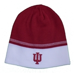 "ADIDAS Crimson  ""IU"" Ribbed Knit Beanie"