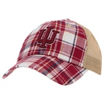 Indiana Mesh Backed Retro Plaid Adjustable Cap