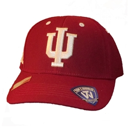 Indiana Big Ten Conference Crimson Adjustable Cap