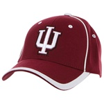 "Indiana ""Slimline"" IU Crimson One-Fit Cap"