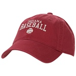 Crimson Legacy Athletic INDIANA BASEBALL Adjustable Cap
