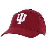Youth Crimson One-Fit Indiana Cap from Top of the World