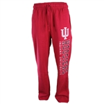 "Indiana Hoosiers Crimson ""OUTLAW"" Vintage Washed Sweatpants from Colosseum Athletics"
