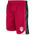 "Colosseum ""Vector"" Crimson Mesh INDIANA HOOSIERS Basketball Shorts"