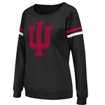 Women's IU Tailgate Boat-Neck Pullover Fleece from Colosseum