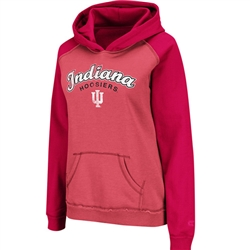 "Women's Indiana Hoosiers IU ""Chestnut"" Hoodie from Colosseum"