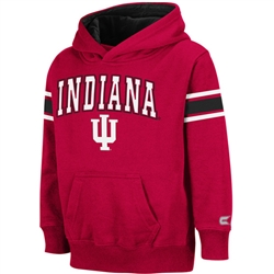 Crimson Kids THROWBACK Pullover INDIANA IU Hooded Sweatshirt from Colosseum