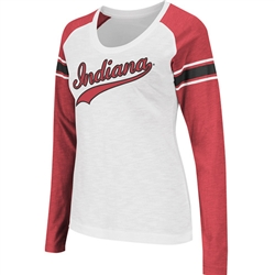 "Women's ""Sycamore"" Indiana Longsleeve Raglan T-Shirt from Colosseum"