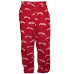 Indiana Hoosiers Crimson Adult Drawstring Lounge or Pajama Pants