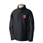 "INDIANA IU ""Highland"" Zip Soft Shell Colorblock Jacket"