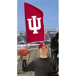 Indiana Hoosiers Tailgate Flag from The Party Animal