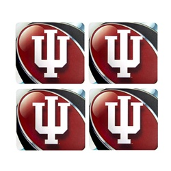 Indiana Hoosiers 4-Pack Foam Coaster Set