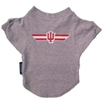 Indiana Hoosiers Grey Pet T-Shirt from Hunter