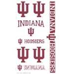 Indiana Hoosiers Temporary Tattoos from Wincraft