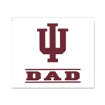"Indiana ""DAD"" WIndow Decal from SDS"