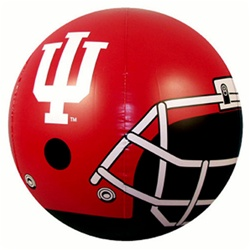 "24"" Indiana Hoosiers Footballl Helmet Beach Ball"