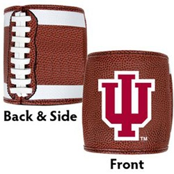 INDIANA HOOSIERS Football Texture Can Cooler from Great American Products
