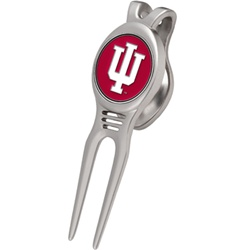 "Indiana Hoosiers Golf Divot ""Kool"" Tool from Links Walker"