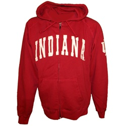 "Colosseum ""Campus"" Vintage Washed Full Zippered Hooded Sweatshirt"