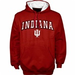 "Colosseum ""Automatic"" Pullover Crimson Hooded Sweatshirt"