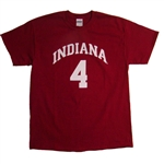 Crimson Indiana IU Player Jersey Style 4 T-Shirt