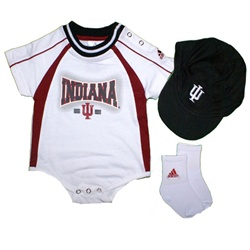 ADIDAS Indiana 3-Piece Infant Hat, Socks & Onesie Set