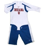 NIKE Infant Blue and Crimson Indiana Creeper and Pant Set