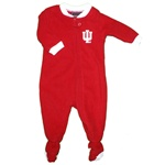Crimson Infant Indiana Hoosiers Footed Blanket Sleeper from Outerstuff