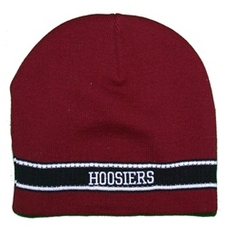 """Dasher"" Knit Crimson Indiana Hoosiers Beanie by Top of the World"