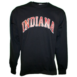 LONGSLEEVE Black Arched INDIANA T-Shirt