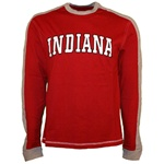 "LONGSLEEVE Indiana Hoosiers ""Wild Card"" Thermal Blend T-Shirt"
