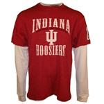 "LONGSLEEVE Indiana HOOSIERS ""Hitch"" Double Layer Thermal T-Shirt"