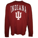 LONGSLEEVE Indiana HOOSIERS Pima Cotton Tee from Banner Supply