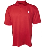 "Crimson Cutter & Buck DryTec ""IU"" Polo Shirt"