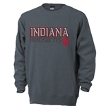 Indiana Charcoal Sueded Crew Neck Sweatshirt from Ouray