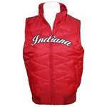 Ladies Indiana Hoosiers Bubble Vest from Colosseum Athletics