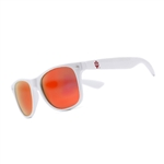Indiana IU White Sunglasses