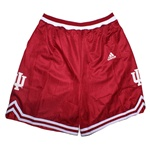 Red ADIDAS Women's Replica Indiana Basketball Shorts
