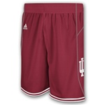 "CRIMSON Authentic ADIDAS ""Point Guard"" Indiana Game Shorts"