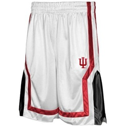 Colosseum White Indiana Hoosiers IU Flex Basketball Shorts