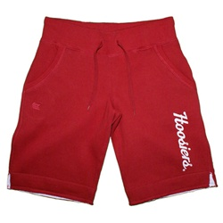"Crimson IU Hoosiers ""Academy"" Fleece Women's Shorts from Colosseum"