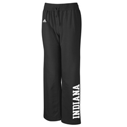 ADIDAS Women's Stretch Fit Black Fleece INDIANA Sweatpants