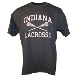 Graphite Grey Indiana Lacrosse T-Shirt