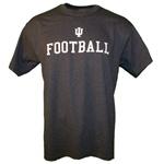 Graphite Grey Indiana FOOTBALL T-Shirt