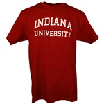 Crimson INDIANA UNIVERSITY Short Sleeve T-Shirt