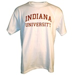 White INDIANA UNIVERSITY Short Sleeve T-Shirt