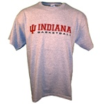 Heather Grey INDIANA BASKETBALL Practice T-Shirt