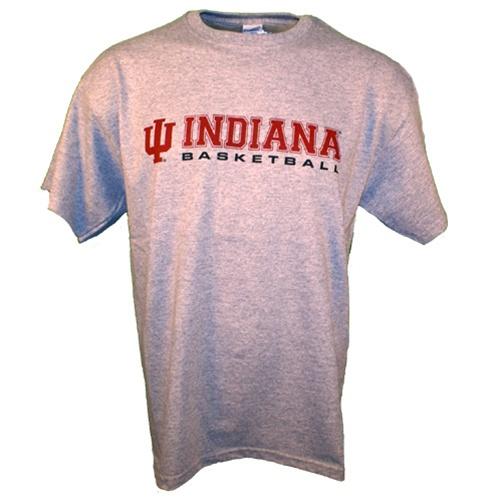Heather grey indiana basketball practice t shirt for Indiana basketball t shirt