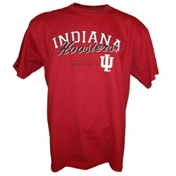 "Crimson ""Gametime"" Indiana Hoosiers Bloomington T-Shirt"